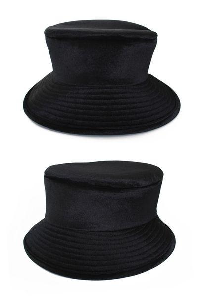 Dames hoed luxe zwart