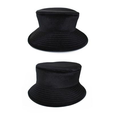 Foto van Dames hoed luxe zwart