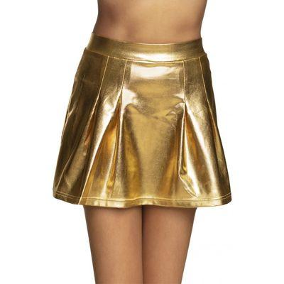 Foto van Minirok showgirl goud