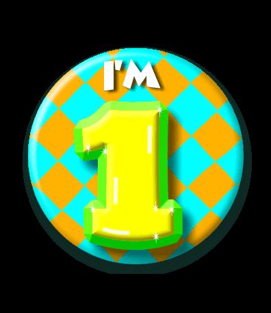 Afbeelding van Button 1 jaar