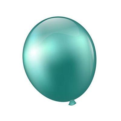 Ballonnen platinum groen (28cm)