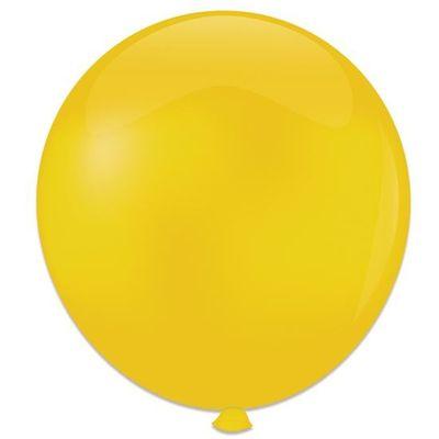 Topballon geel (91cm) 6st