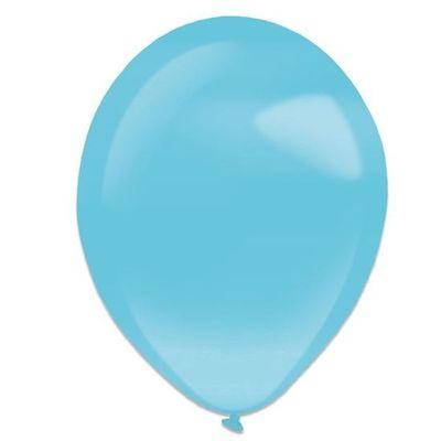 Ballonnen Caribean blue pearl (13cm) 100st