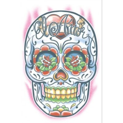 Foto van Neptattoo Day of The Dead skull