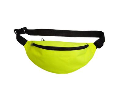 Fanny pack neon geel