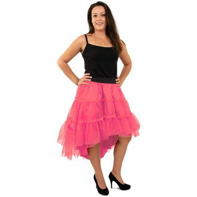 Foto van Petticoat schuin aflopend roze