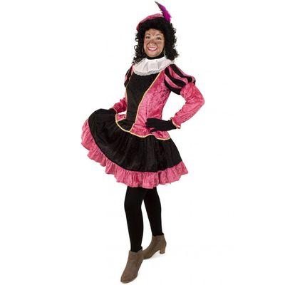 Foto van Piet jurkje met petticoat roze