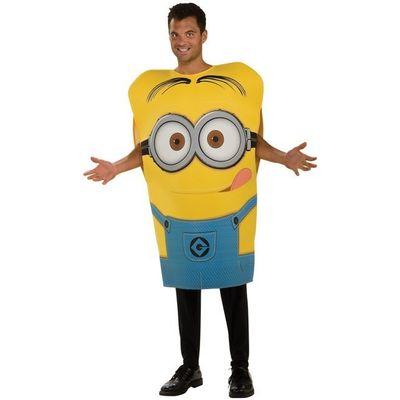 Foto van Minion Dave kostuum (licentie) unisex one size