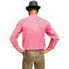 Afbeelding van Oktoberfest overhemd - rood geblokt