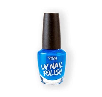 UV Nagellak blauw