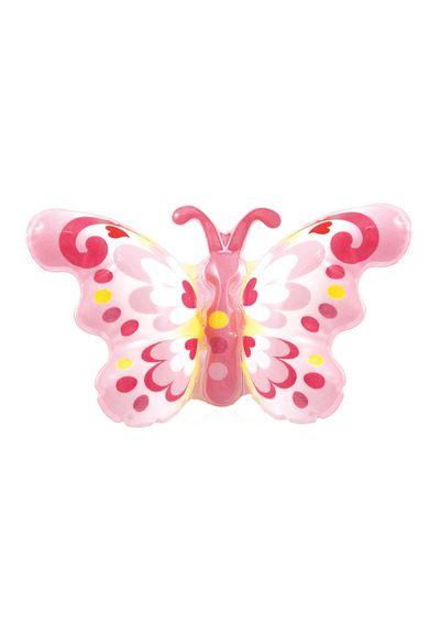 Opblaas vlinder op polsband