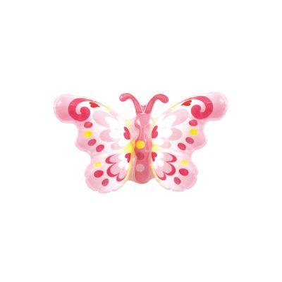 Foto van Opblaas vlinder op polsband