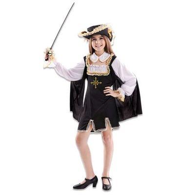 Foto van Musketier jurkje meisje