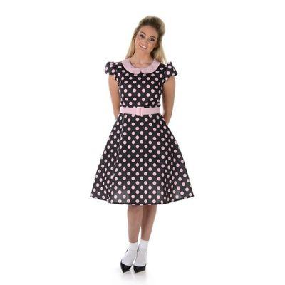 Foto van Jaren 50 jurk stippen