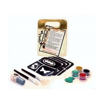 Foto van Glitter tattoo set cartoon
