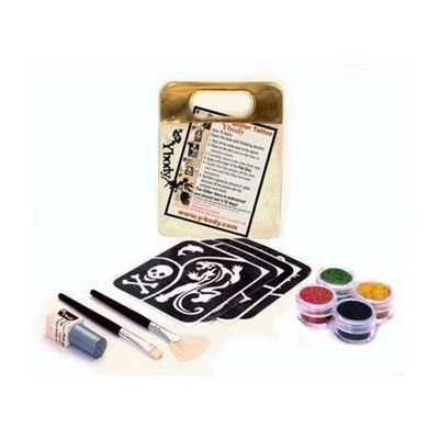 Foto van Glitter tattoo set bold