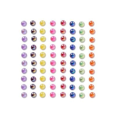 Foto van Body Jewels rond 80st. rainbow colors
