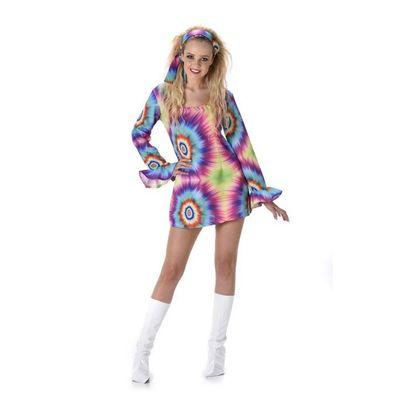 Foto van Hippie tie-dye jurkje