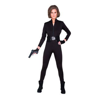 Foto van Geheim agent kostuum dames