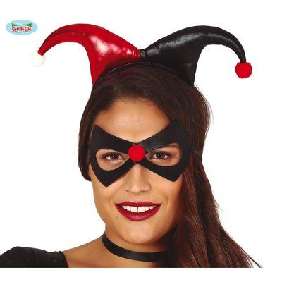 Joker tiara en masker