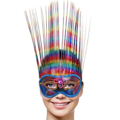 Masker Venice Rainbow Deluxe