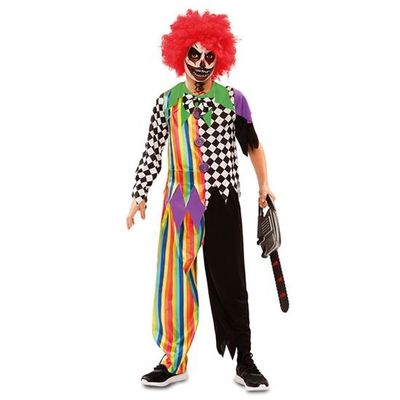Creepy clown kostuum kind
