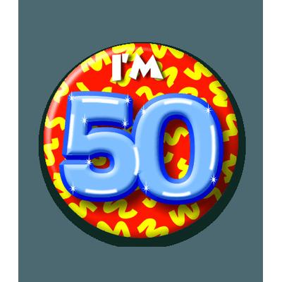 Foto van Button 50 jaar
