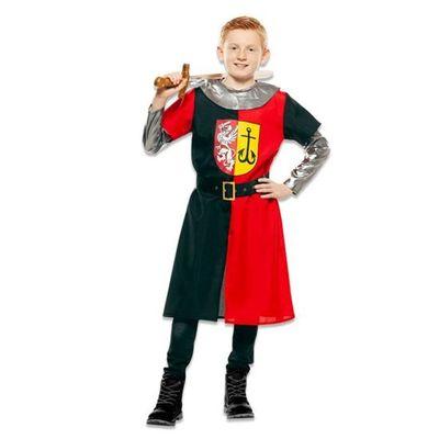 Foto van Middeleeuwse ridder kostuum jongen
