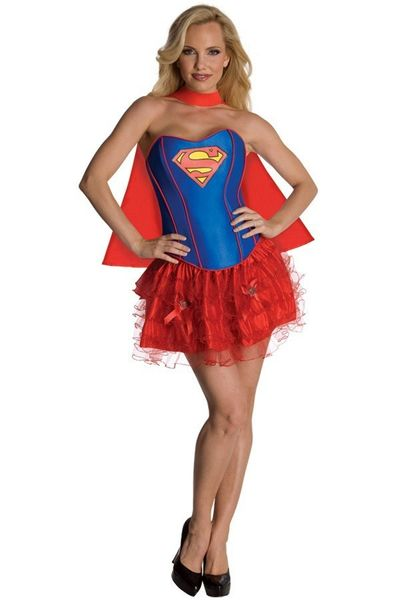 Supergirl Corset jurkje dames