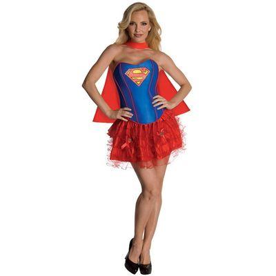 Foto van Supergirl Corset jurkje dames