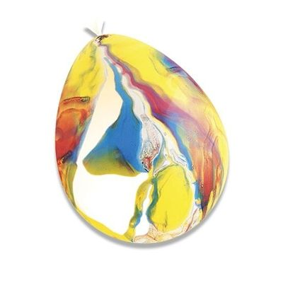 Ballon kleurenmix 4 stuks