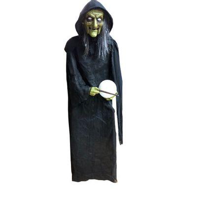 Foto van Halloween decoratie heks XXL 180cm