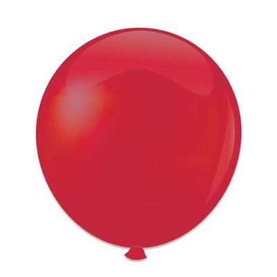 Ballonnen kristal rood (61cm)