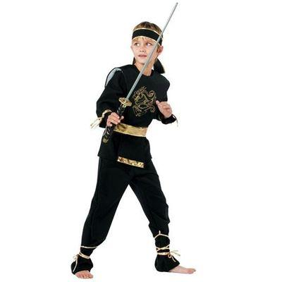 Foto van Ninja kostuum kind luxe
