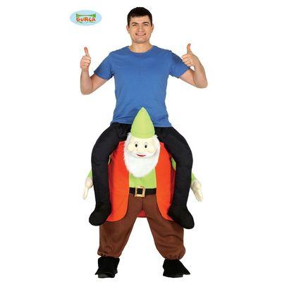 Carry me kostuum kabouter