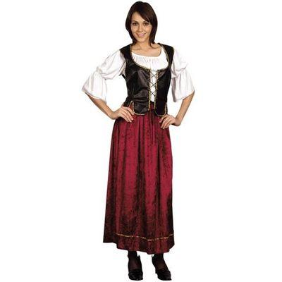 Foto van Middeleeuwse jurk - kastelein