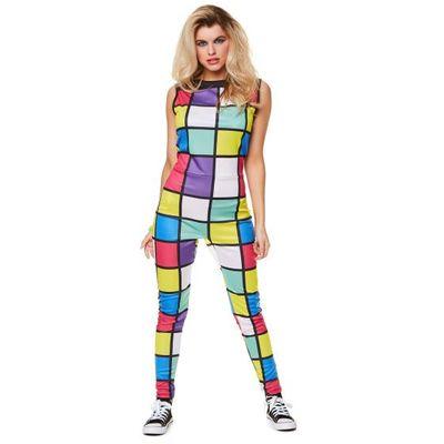Foto van 80's disco jumpsuit