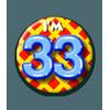 Afbeelding van Button 33 jaar