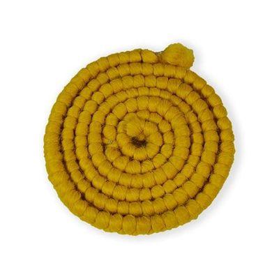 Wolcrêpe geel