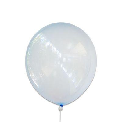 Ballonnen bubbel blauw (30cm)