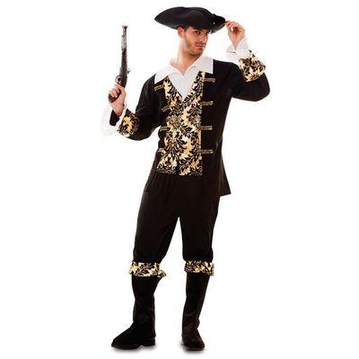 Piraten kostuum goud - Heren