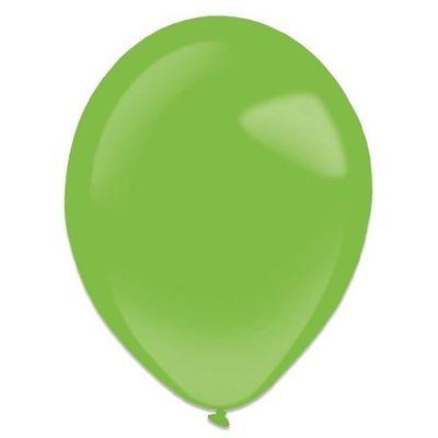 Ballonnen festive green (35cm) 50st