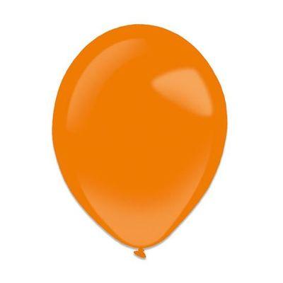 Foto van Ballonnen tangerine (13cm) 100st