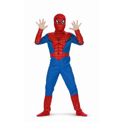 Foto van Spiderman pak jongens