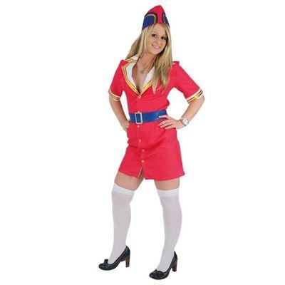 Stewardess kostuum - Luxe