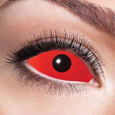 Sclera red eye 6-maandlenzen (per paar)
