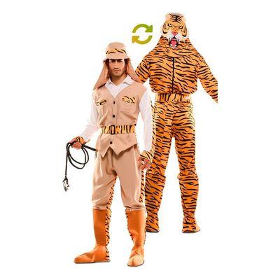Foto van Double fun! Jager en tijger kostuum