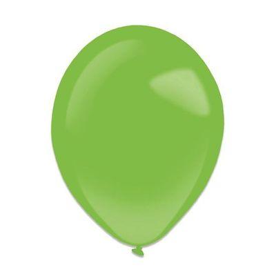 Ballonnen festive green (13cm) 100st