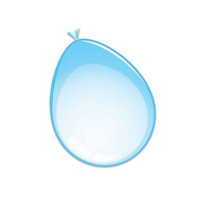Ballonnen Babyblauw 10st