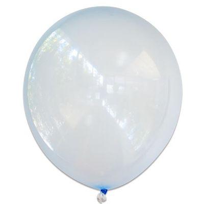 Ballonnen bubbel blauw (61cm)
